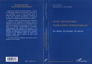 Couverture Champ Multiculturel, Transactions Interculturelles