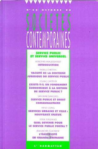 Couverture Service public et service universel