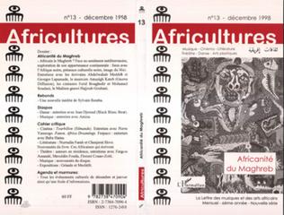 Couverture Africanité du Maghreb