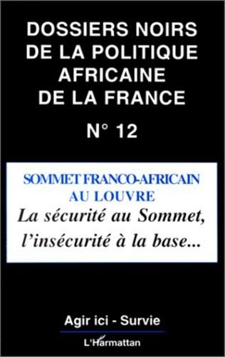 Couverture Sommet Franco-Africain au Louvre