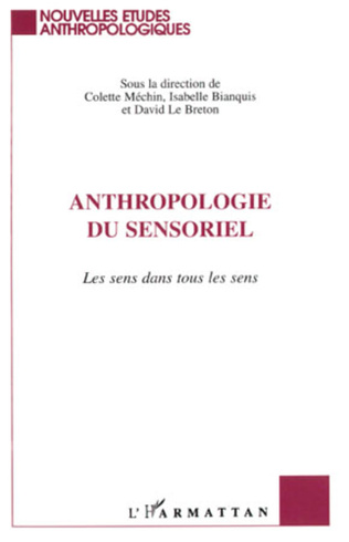 Couverture Anthropologie du Sensoriel