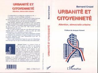 Couverture Urbanité et Citoyenneté