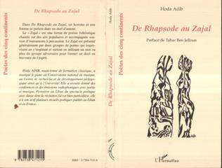 Couverture DE RHAPSODE AU ZAJAL