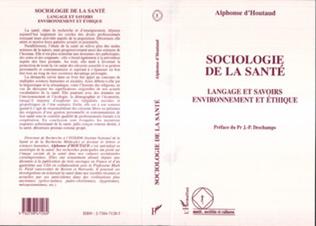 Couverture Sociologie de la Santé