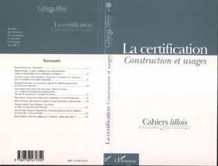 Couverture La Certification