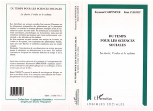 Couverture Du Temps pour les Sciences Sociales