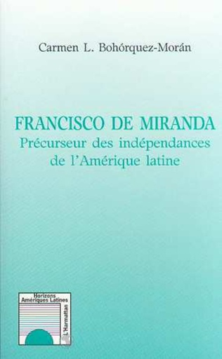 Couverture Francisco de Miranda
