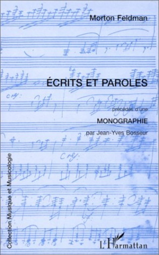 Couverture ECRITS ET PAROLES
