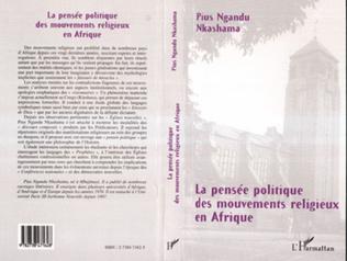 Couverture LA PENSÉE POLITIQUE DES MOUVEMENTS RELIGIEUX EN AFRIQUE