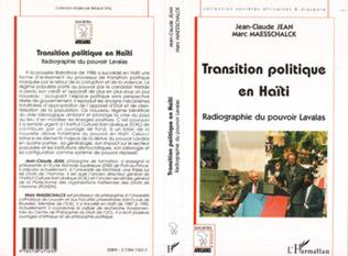 Couverture TRANSITION POLITIQUE EN HAÏTI