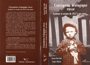 Couverture L'EXCEPTION ECOLOGIQUE RUSSE