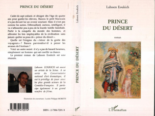 Couverture PRINCE DU DÉSERT