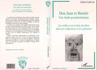 Couverture Don Juan et Hamlet, une Etude Psychanalytique
