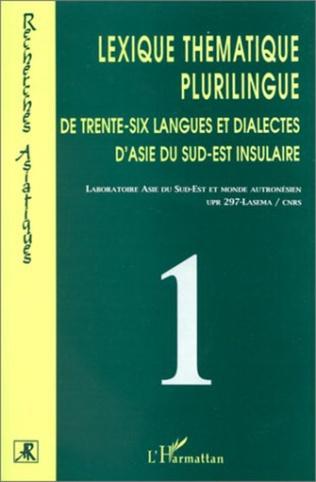 Couverture Lexique thématique plurilingue