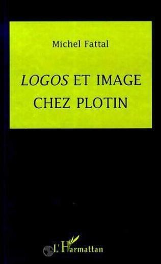 Couverture Logos et image chez Plotin