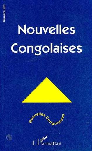 Couverture NOUVELLES CONGOLAISES N° 21