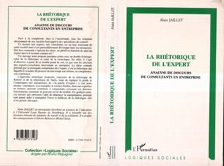 Couverture LA RHÉTORIQUE DE L'EXPERT