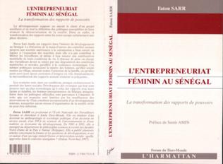 Couverture L'ENTREPRENEURIAT FEMININ AU SENEGAL