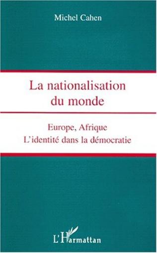 Couverture NATIONALISATION DU MONDE