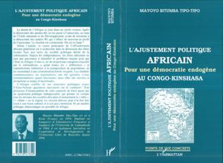 Couverture L'AJUSTEMENT POLITIQUE AFRICAIN
