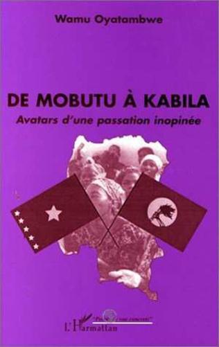 Couverture MOBUTU (DE) A KABILA