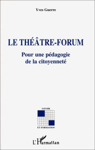 Couverture Le théâtre-forum