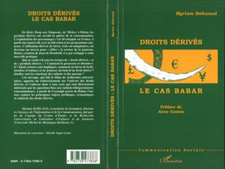 Couverture DROITS DERIVES : LE CAS BABAR