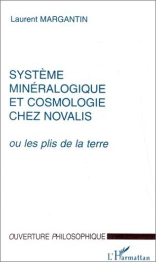 Couverture SYSTEME MINERALOGIQUE ET COSMOLOGIE CHEZ NOVALIS
