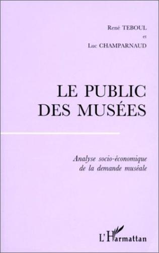 Couverture LE PUBLIC DES MUSÉES