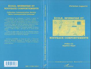 Couverture ECOLE, INFORMATIQUE ET NOUVEAUX COMPORTEMENTS