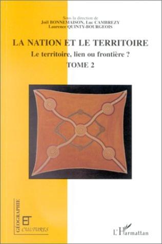 Couverture LA NATION ET LE TERRITOIRE