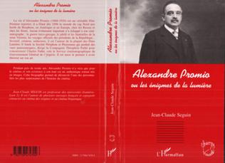 Couverture Alexandre Promio