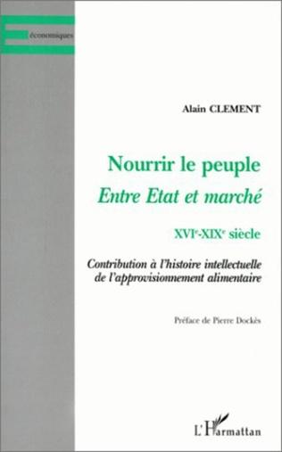 Couverture NOURRIR LE PEUPLE