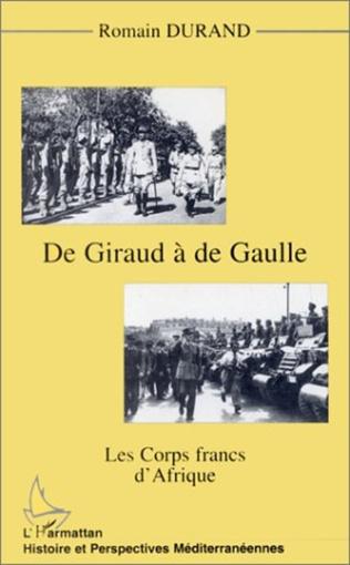 Couverture GIRAUD (DE) A DE GAULLE