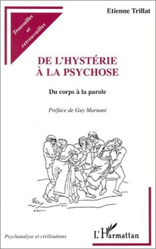 Couverture HYSTERIE (DE L') A LA PSYCHOSE