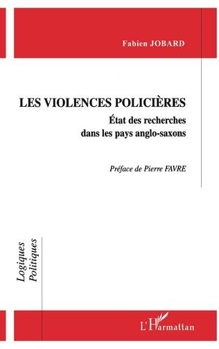 Couverture VIOLENCE POLICIÈRES