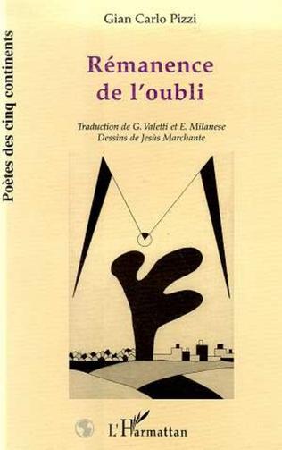 Couverture REMANENCE DE L'OUBLI