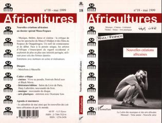Couverture Nouvelles créations africaines