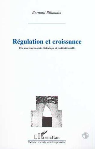 Couverture REGULATION ET CROISSANCE