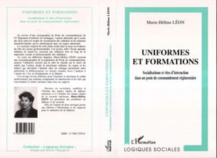 Couverture UNIFORMES ET FORMATIONS