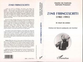 Couverture ZINO FRANCESCATTI (1902-1991)