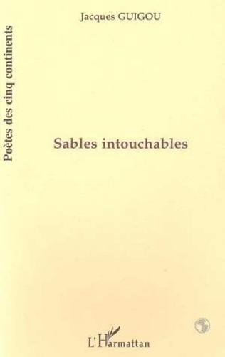 Couverture SABLES INTOUCHABLES