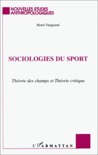 Couverture SOCIOLOGIES DU SPORT