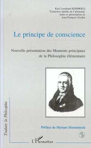 Couverture LE PRINCIPE DE CONSCIENCE