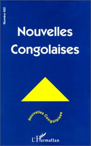 Couverture NOUVELLES CONGOLAISES N° 22