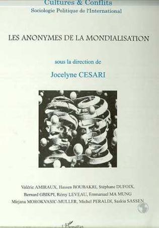 Couverture LES ANONYMES DE LA MONDIALISATION (n°33-34)