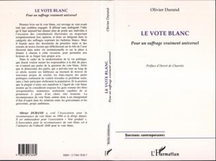 Couverture LE VOTE BLANC