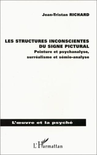 Couverture Les structures inconscientes du signe pictural