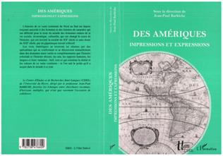 Couverture DES AMÉRIQUES IMPRESSIONS ET EXPRESSIONS