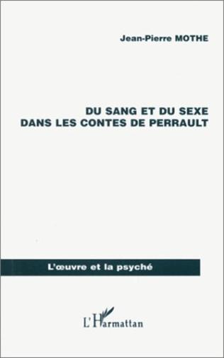 Couverture SANG (DU) ET DU SEXE DANS LES CONTES DE PERRAULT